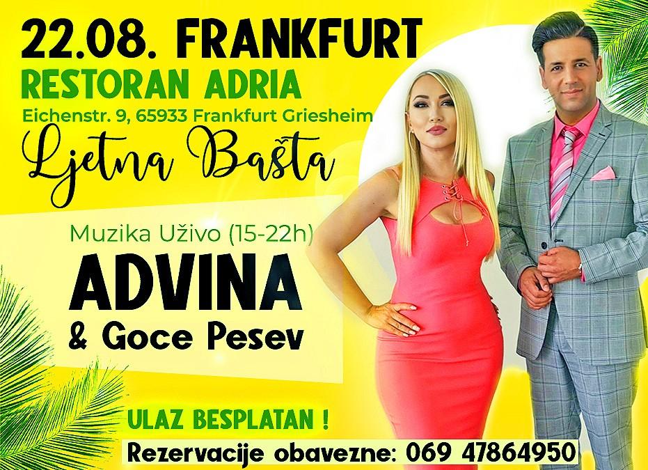 22.08. Frankfurt -Live Muzika